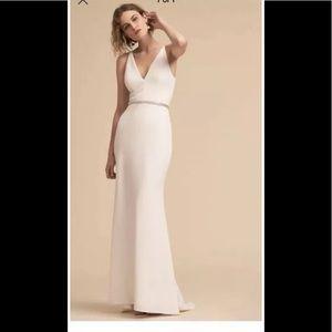 New BHLDN Jones Dress Ivory tulip bridal 10 0
